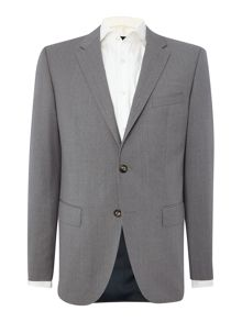 Rebel Steel Slim Fit Solid  Suit