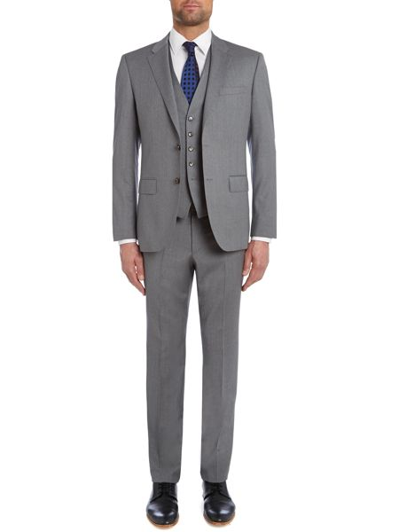 Tommy Hilfiger Rebel Steel Slim Fit Solid Suit