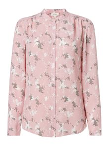 Monet floral print blouse