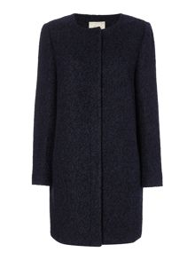 Linea Boiled wool coat