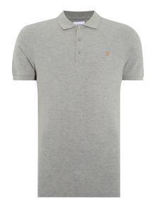 Farah Slim Fit Cotton Pique Polo Shirt