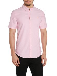 Farah Short Sleeve Oxford Shirt