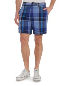 Farah Cotton Shorts In Check