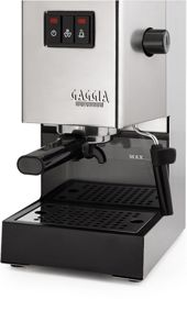 Gaggia Classic Brushed Chrome Espresso Machine