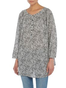 Sloanie printed blouse