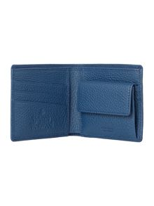 Classic Billfold Wallet With Coin Pocket