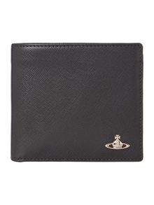 Saffiano Billfold With Coin Pocket Wallet