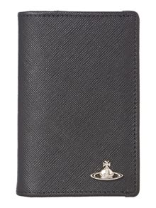 Saffiano Double Credit Card Holder