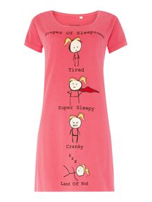 Therapy Stages of Sleepiness Classic Sleep Tee