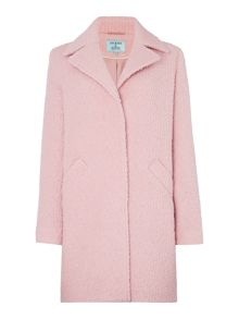 Dickins & Jones Anna Boucle Textured Coat