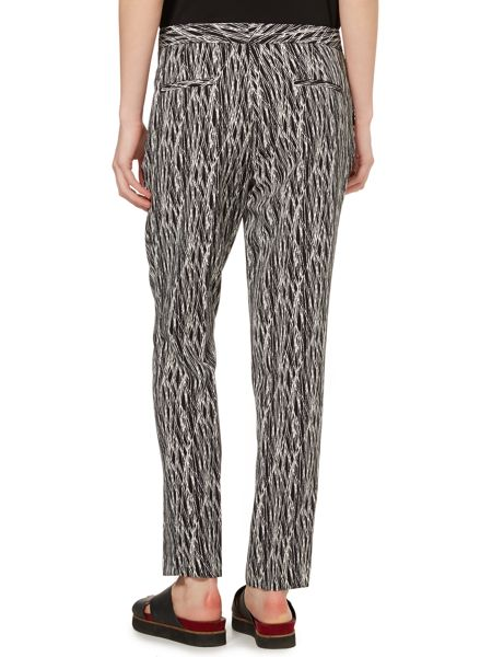 Vince Camuto Slim leg etch print trousers