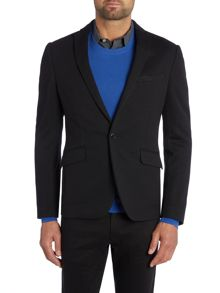 Kenneth Cole Blake Jersey Blazer With Patch Pockets