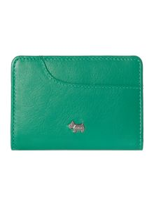 Pocket bag green credit card holder