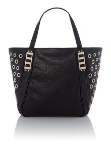 Blenda black tote bag