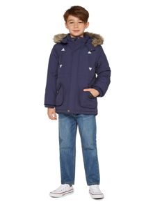 Howick Junior Boys fur hooded parka