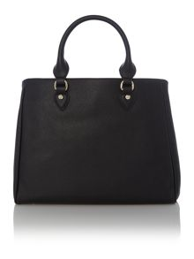Corallo black tote bag