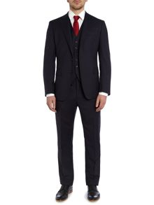 Tropical Wool 3 Piece Solid Suit