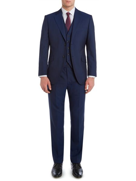 Howick Tailored Bath Panama Suit Trousers