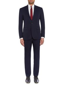 Polo1 Gabardine Wool Solid Slim Fit Suit