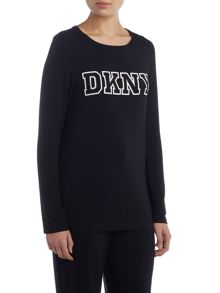 DKNY Logo Long Sleeve T-shirt