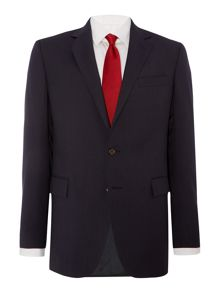 Bedford Fine Stripe Textured Slim Fit Suit