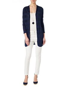 Chloe self stripe cardigan