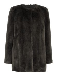 Bree faux fur coat