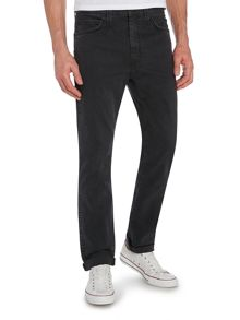 Line 8 522 Slim Taper Jean In Black Wash