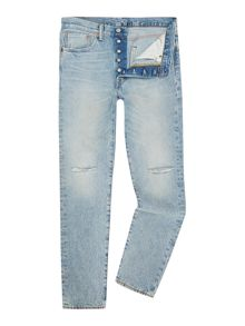 501 Tapered Mid Rise Jeans