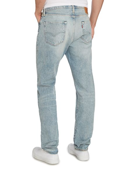 Levi's 501 Tapered Mid Rise Jeans