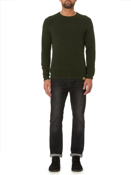 Label Lab Seine Ribbed Crew Neck Jumper