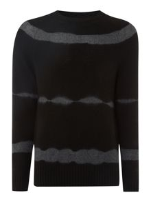 Label Lab Grenelle Tie Dye Crew Neck Jumper