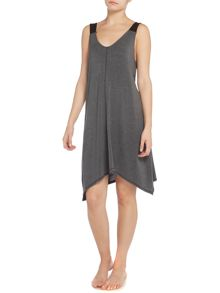 DKNY Contrast Strap Sleep Dress