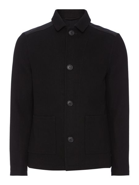 Label Lab Floyd Casual Double Breasted Overcoat