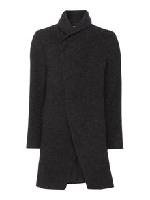 Label Lab Baines Casual Button Overcoat