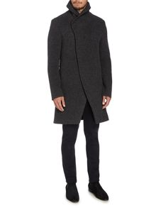 Baines Casual Button Overcoat