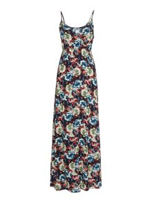 Cross over cami maxi dress