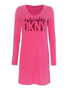 DKNY Skyline Sleep Shirt Dress