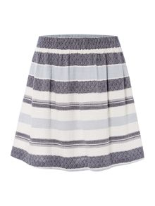 Vila Fit and flare skirt