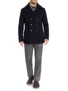 Airdale Casual Button Overcoat