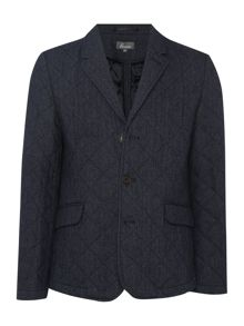 Linea Linea Johnson Wool Quilted Blazer