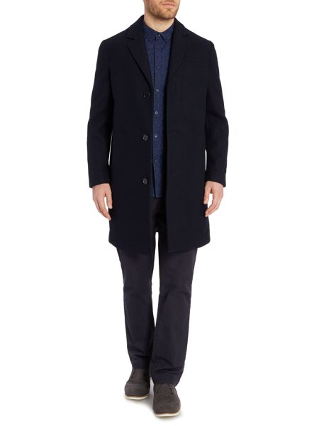 Linea Reliant Casual Button Overcoat