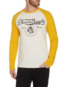 Raglan Sleeve Graphic T-Shirt