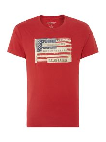Flag Patch Graphic T-Shirt