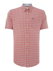 Dockers Short-Sleeve Checked Shirt