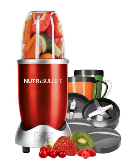 NutriBullet Nutrition extractor red