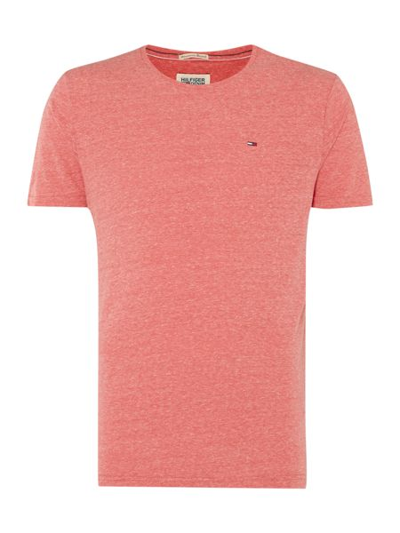Tommy Hilfiger Hanson Plain Crew Neck Slim Fit T-Shirt