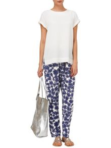 Phase Eight Kayleigh soft printed trousers