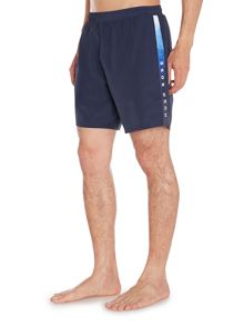 Hugo Boss Seabream Logo Taping Swim Shorts