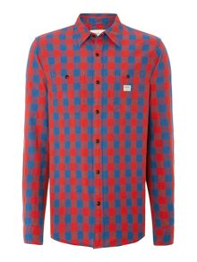 Check 2 Pocket Long Sleeve Shirt